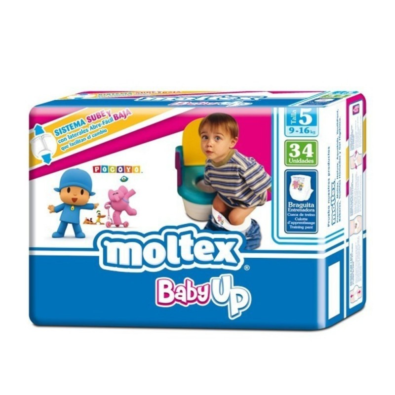 Couches culottes d'apprentissage Moltex Baby up T5